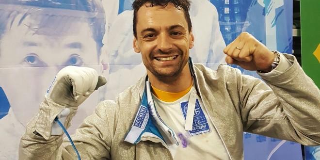 Sciabola, Diego Occhiuzzi vola a Rio 2016: vinta sfida a distanza con Curatoli