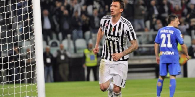 Serie A, 31ᴬ: la Juve non molla di un centimetro, 1-0 all'Empoli firmato Mandzukic