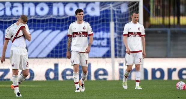 Serie A, 35ᴬ: Milan, che flop a Verona! Carpi, Lasagna sul piatto della salvezza