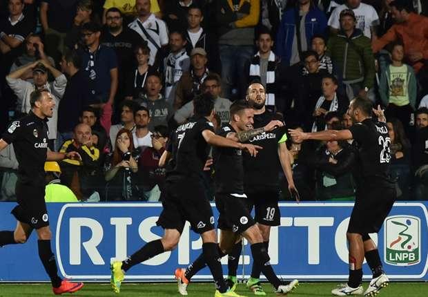 Serie B-playoff: lo Spezia sbanca Cesena 1-2, ora il Trapani