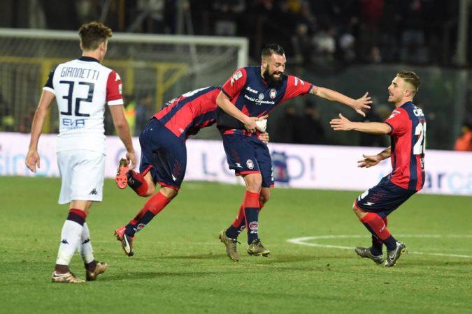 Crotone e Cagliari promosse in Serie A