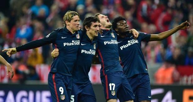 Champions, l'Atletico resiste al Bayern: 2-1 all'Allianz, ma passa il Cholo