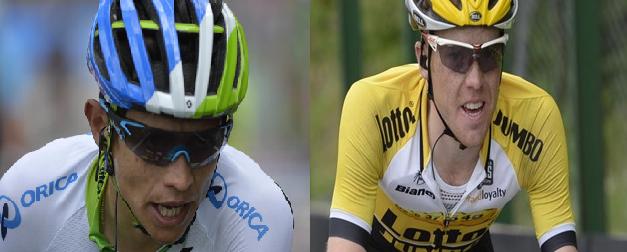 Giro 2016: Chaves, il sorriso della sportività; Kruijswijk, la forza della dignità