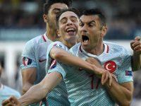 Burak Yilmaz Turchia-Rep. Ceca Euro 2016
