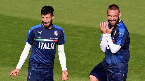 Euro 2016, l' Italia verso la Germania: De Rossi e Candreva ni, chi a centrocampo?