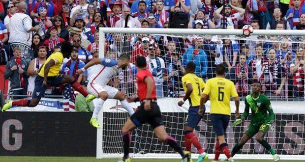 Copa America Centenario, USA-Ecuador 2-1: Yankees in semifinale
