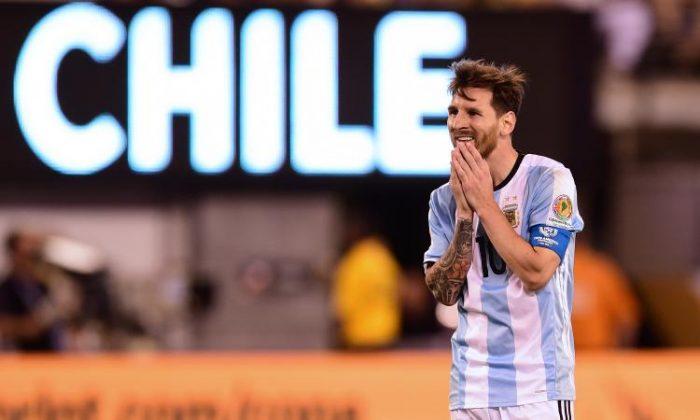 Messi Argentina finale Copa America Centenario