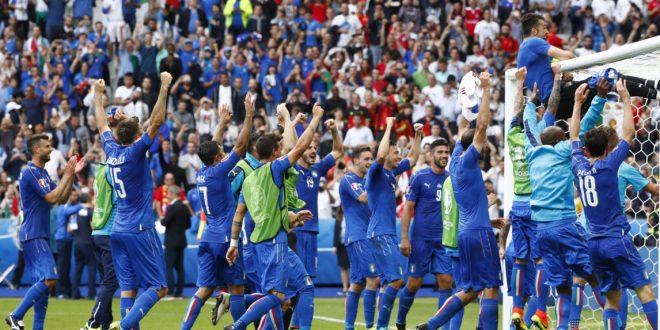 Euro 2016, il dopo Italia – Spagna: euforia a mille e Torre Eiffel tricolore