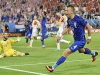 Perisic Croazia-Spagna Euro 2016