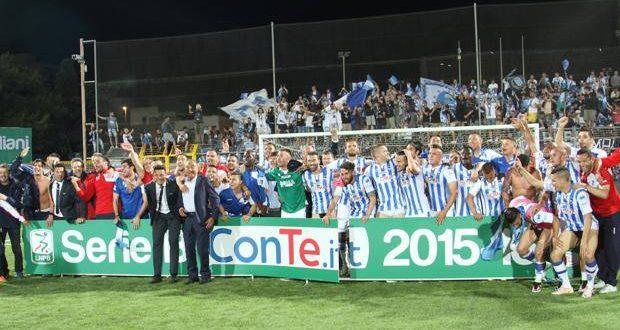 Serie B, finale playoff: Pescara, è qui la festA! Trapani s'arrende con le lacrime di Cosmi