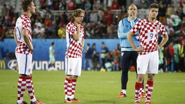 Pjaca-Modric-Kramaric Croazia-Portogallo Euro 2016