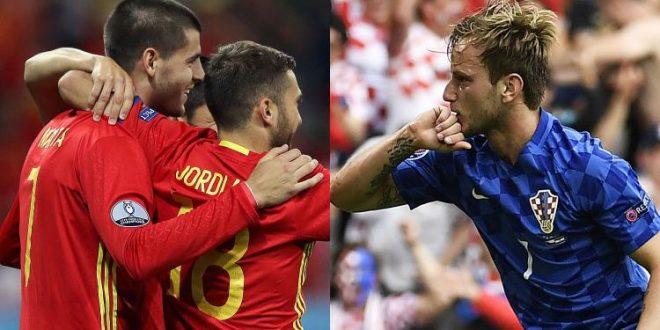 Euro 2016, alle 21 Spagna-Croazia: chi tocca all'Italia?