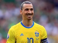 Zlatan Ibrahimovic Svezia Euro 2016