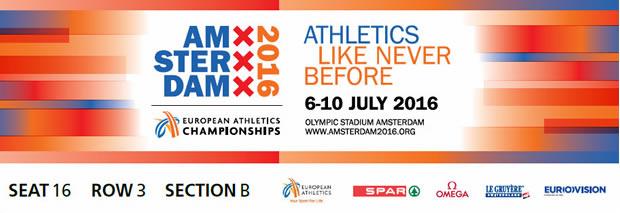 Atletica, Europei Amsterdam 2016: il programma e la guida tv