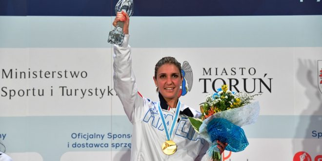Scherma, Europei Torun 2016: Arianna Errigo medaglia d'oro!