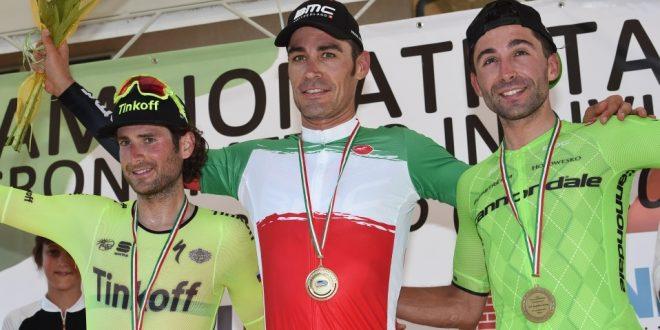 Campionato italiano cronometro 2016, Manuel Quinziato veste la maglia tricolore