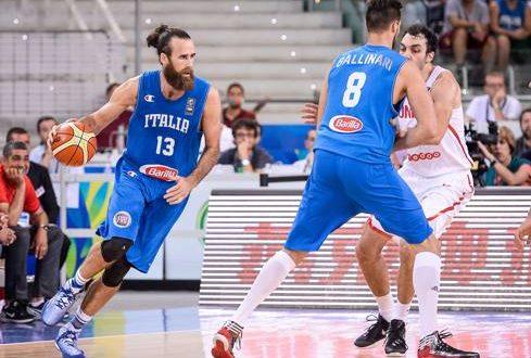 Italbasket, a Torino basta un tempo: 68-41 alla Tunisia; domani insidia-Croazia