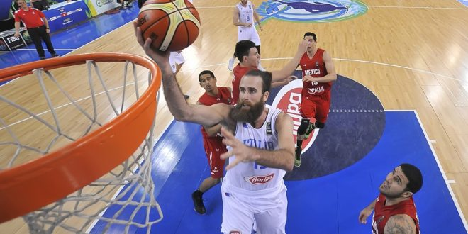 Italbasket, si va in finale: Messico out 79-54, domani la Croazia
