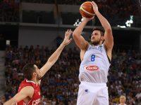 Gallinari Italia-Croazia Italbasket Preolimpico Torino 1