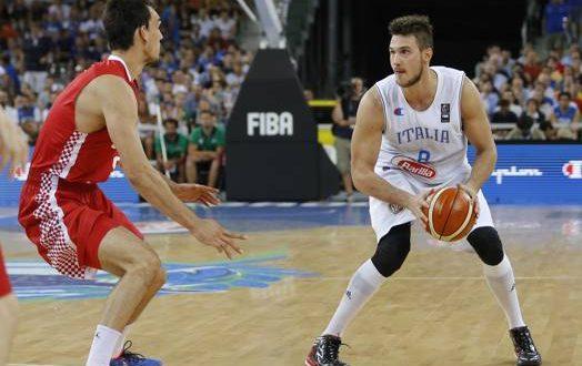 Italbasket, dai così: vittoria con fatica sulla Croazia, ora semifinali!