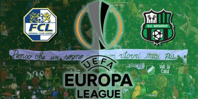 Europa League: Lucerna-Sassuolo probabili formazioni