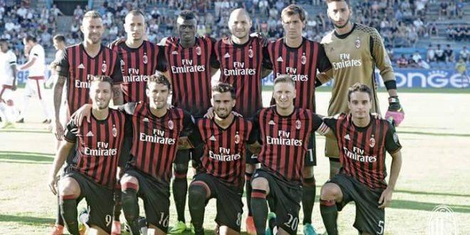 Serie A 2016/2017: presentazione Milan