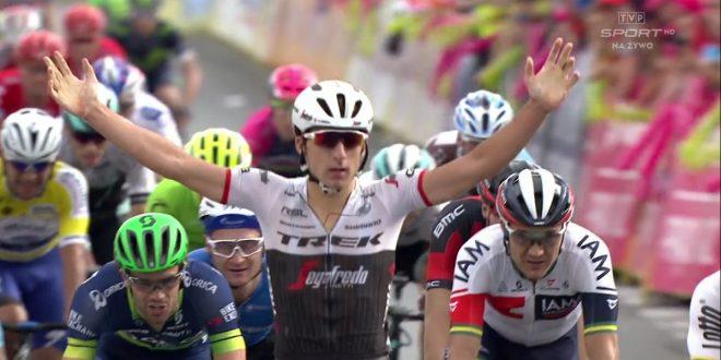 Giro di Polonia 2016, prima stagionale di Bonifazio