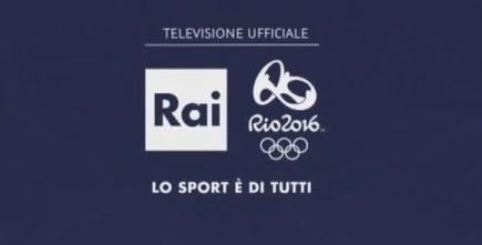 Rio 2016, la programmazione Rai: tv, web, radio 24/24