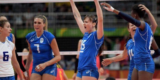 Rio 2016, per Italvolley la vittoria dell'onore per salutare la Del Core