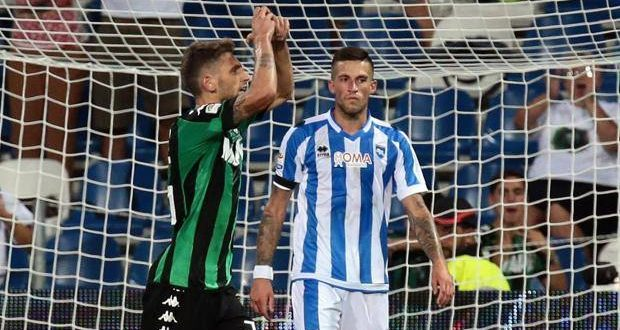 Serie A, ribaltone in Sassuolo-Pescara: 0-3 a tavolino, Ragusa non era nei 25