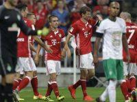 Lahm e Muller Bayern Monaco-Werder Brema Bundesliga, foto Ap
