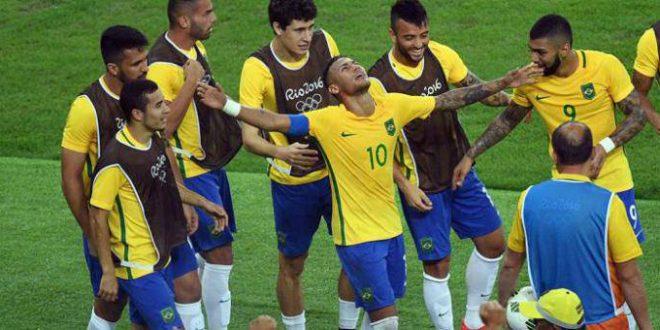 Rio 2016, calcio: Brasile in trionfo, ma che fatica bestiale vincere in casa!