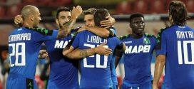 Europa League sì, Sassuolo, è tutto vero: 1-1 a Belgrado, si va nella storia!