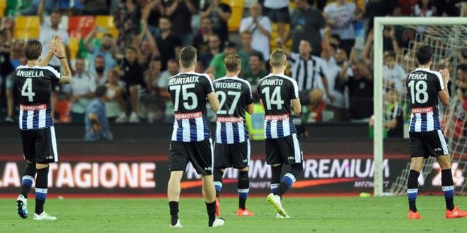 Serie A 2016/2017: presentazione Udinese