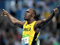 Usain Bolt finale 200 metri Rio 2016, foto Afp