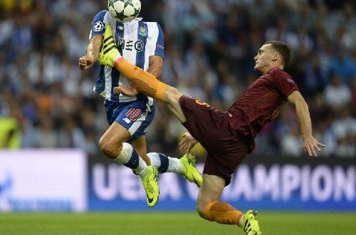 Champions League, Roma: la prima è salvabile, 1-1 in dieci col Porto; si decide al ritorno
