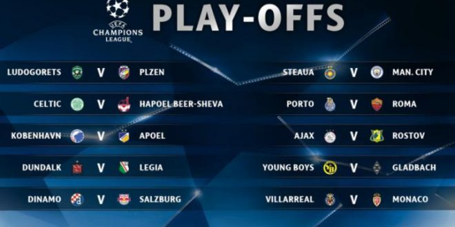 Multipla Preliminari Champions League (Europa) (Parte 3) – Pronostici 24/08/16