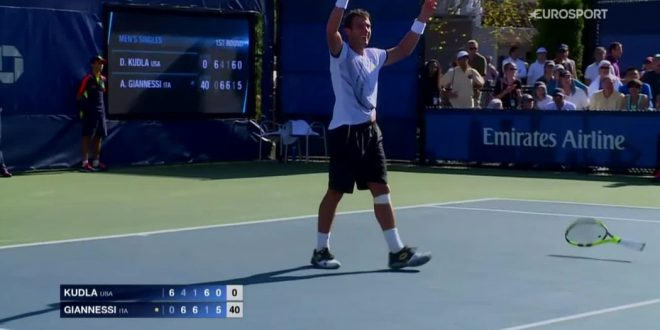 Tennis, Us Open 2016, 1° turno/M: ok Murray e Wawrinka, impresa Giannessi, avanti anche Fognini e Lorenzi. Saluta Fabbiano.