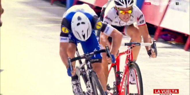 Vuelta a Espana 2016, Meersman primo a Lugo su Felline. Atapuma rimane in rosso