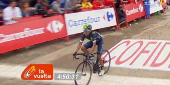 Vuelta a Espana 2016, prova di forza Quintana: tappa e maglia a Covadonga