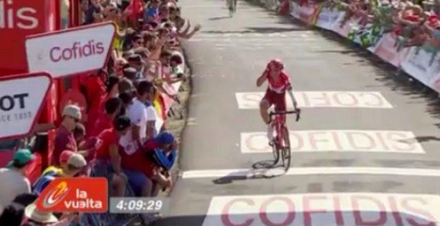 Vuelta a Espana 2016, La Camperona rompe gli equilibri: tappa a Lagutin, Quintana nuovo leader