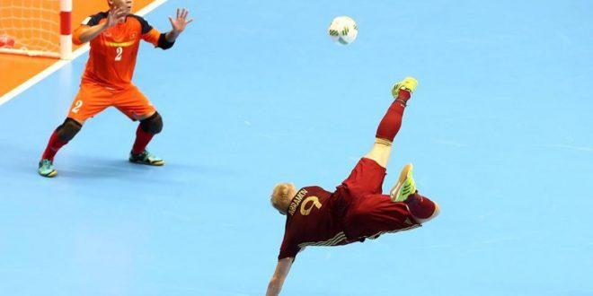 Mondiali calcio a 5, Russia e Paraguay ok negli ottavi. Stanotte altre tre big