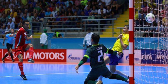 Mondiali calcio a 5, incredibile: Brasile eliminato dall'Iran! Ok le iberiche