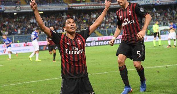 Serie A, 4ª giornata: Samp-Milan 0-1, la decide ancora Bacca