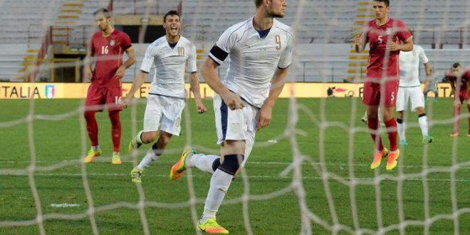 Qualificazioni Euro Under 21, Italia-Serbia 1-1: gli azzurrini vedono il torneo