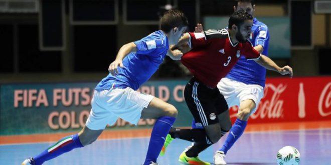 Mondiali calcio a 5, l'Italia si affloscia: k.o. con l'Egitto dts, il sogno iridato svanisce