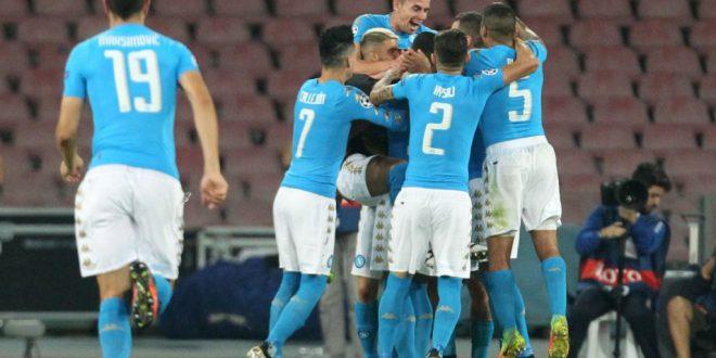 Champions League, un grande Napoli ne fa 4 al Benfica