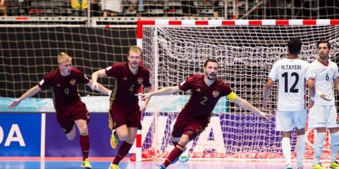 Mondiali calcio a 5, la prima finalista è la Russia: Iran sconfitto 4-3