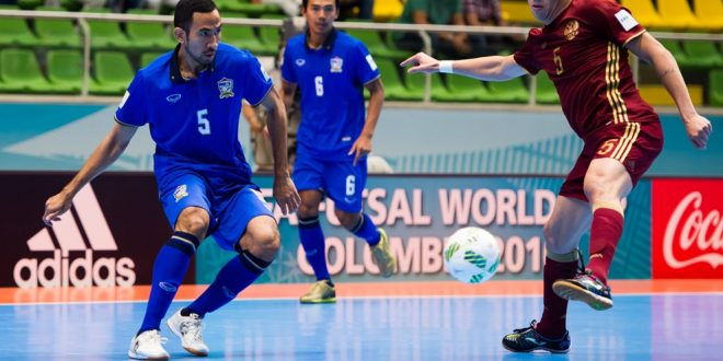 Mondiali calcio a 5, 1ª giornata: Russia ok, Portogallo pari. Stanotte l'Italia