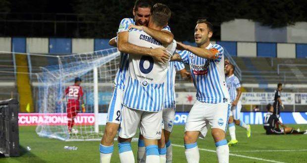 Serie B 2ª giornata: Verona stoppato a Salerno; ridono Spal e Pisa